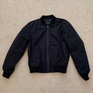 Madewell bomber jacket.